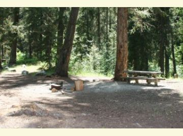 South Creek Campground Camping Site