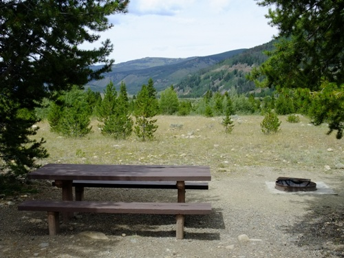 Picture of site at Camp Hale Campground