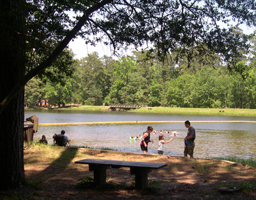 National Forests and Grasslands in Texas - Double Lake Recreation