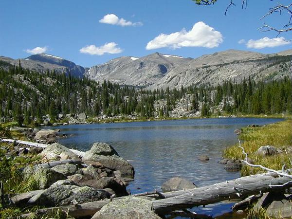 The Cloud Peak Wilderness, located in north-central Wyoming, is managed by the Bighorn National Forest