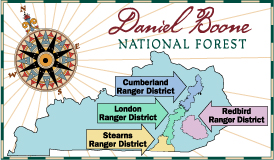 Daniel Boone National Forest - About the Forest on