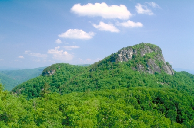 View of Table Rock