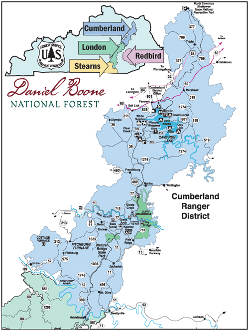 Cumberland District Map