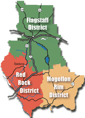 Coconino Forest Districts