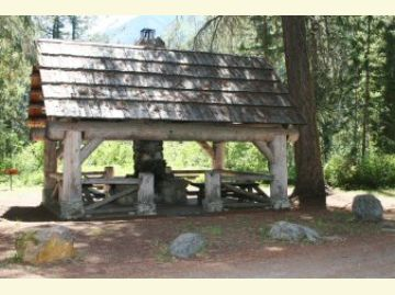 Poplar Flat Campground Community Kitchen