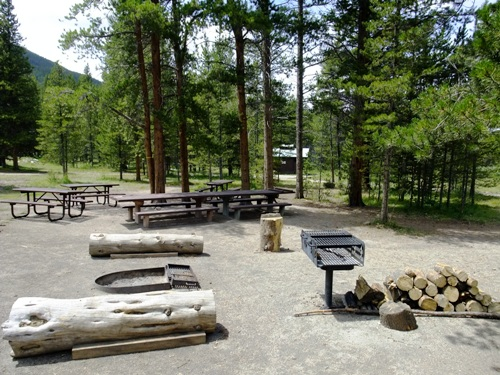 picture of East Fork Group Campground