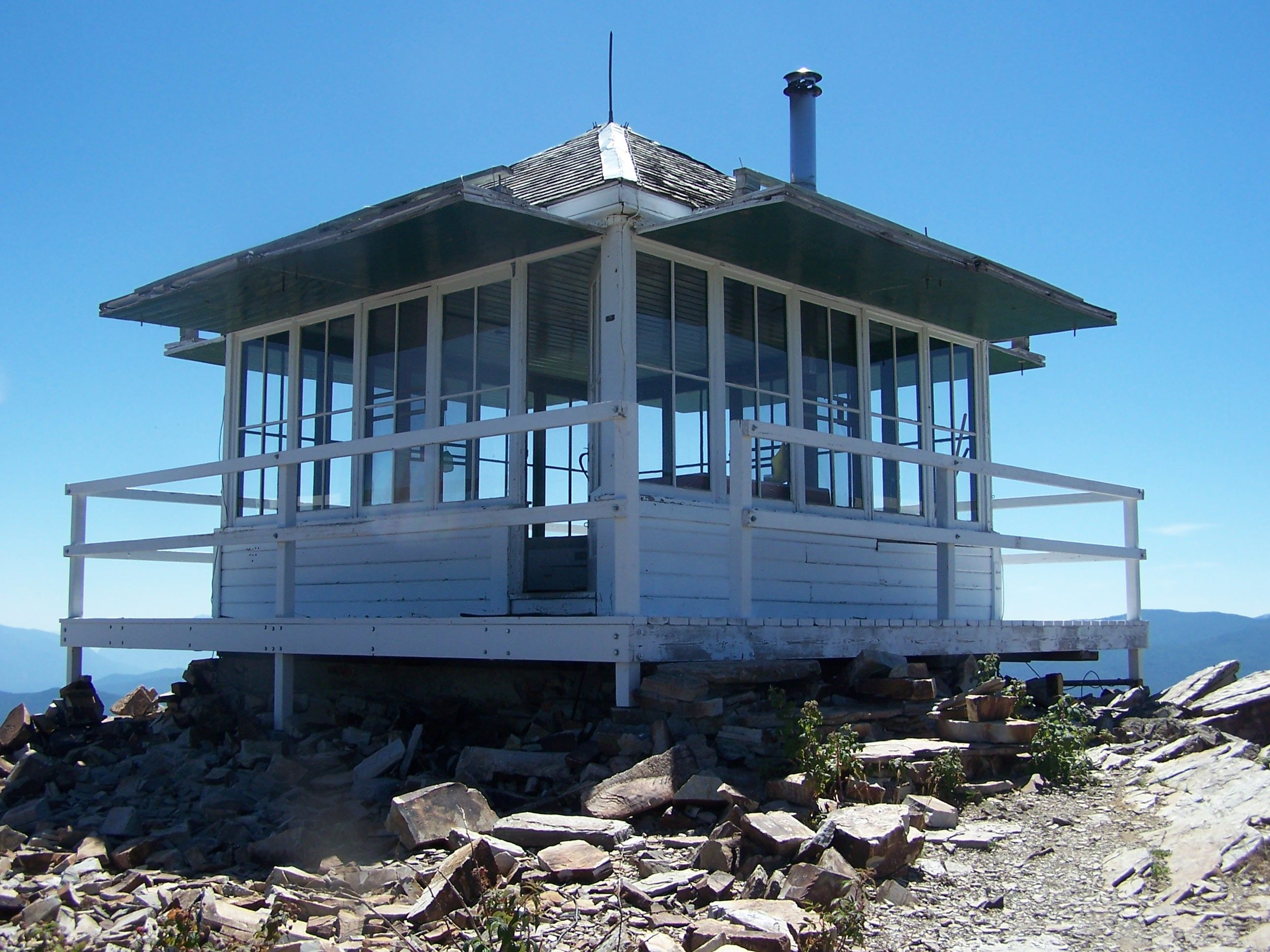 Exterior view of the lookout