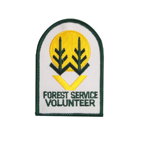 Forest Service Volunteer Patch