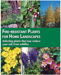 Fire Resistant Plants for Home Landscaping Brochure Cover