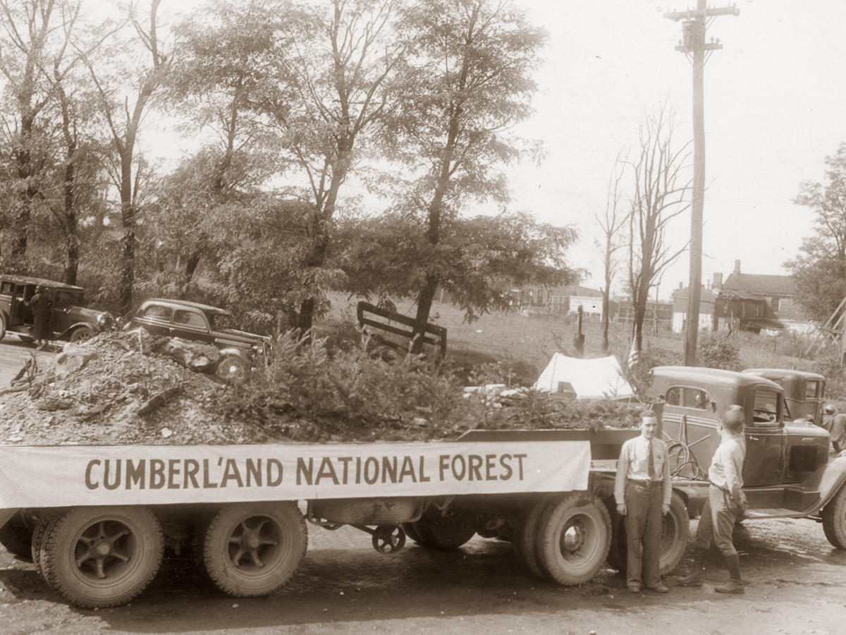 Cumberland National Forest Truck