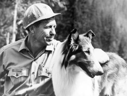 Lassie and Ranger Corey Stuart