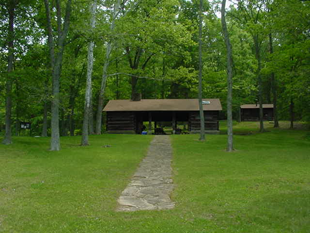Shelterhouse at German Ridge