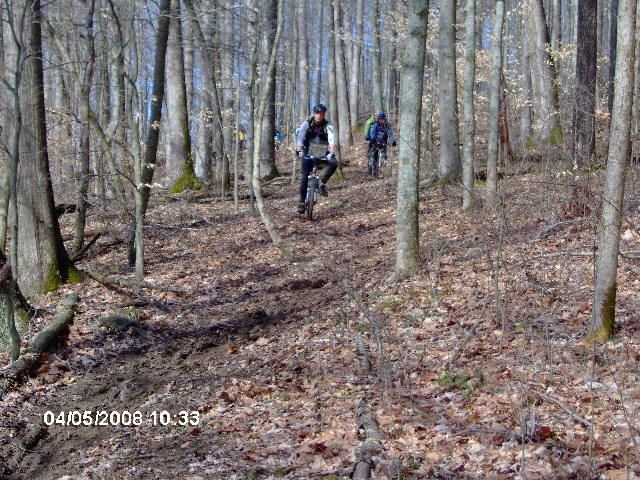 Riding the Nebo Ridge Trail