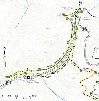 Switchback Trail Guide Map