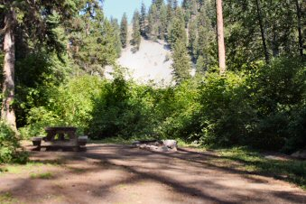 Beaver Lake Campground Campsite