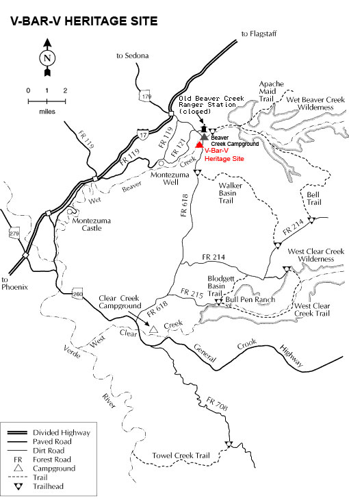 Map Of Arizona Historical Sites.Sedona Archaeology Sites Trail Lovers Excursions The Best Hiking