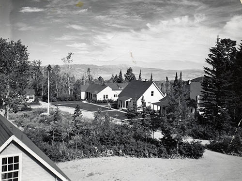 Overview of Great Basin Station 1940s