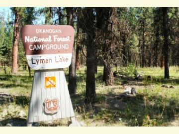 Lyman Lake Campground Entrance Sign1
