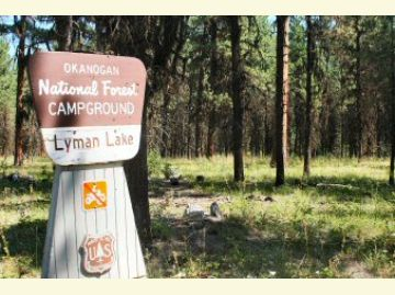Lyman Lake Campground Entrance Sign2