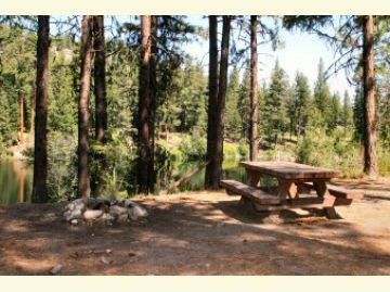 Lyman Lake Campground Campsite