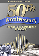 Hebgen Lake Earthquake 50th Anniversary video cover.