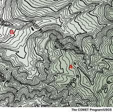 topographic map clipart