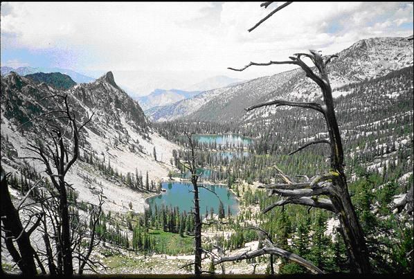 Photo of the Frank Church River of No Return Wilderness Lakes.