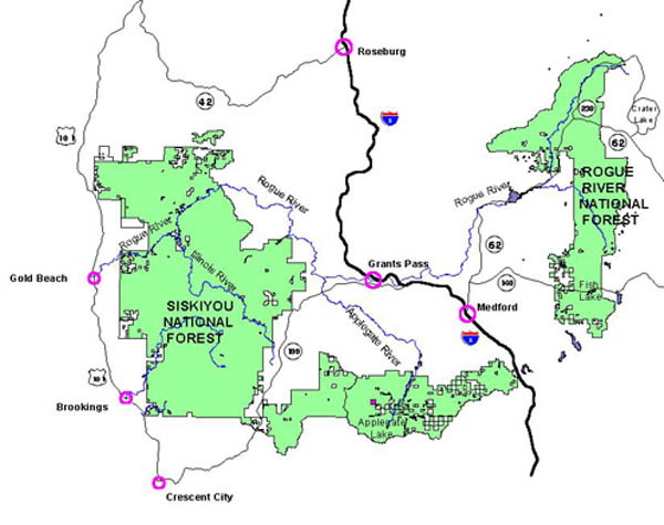 Rogue River-Siskiyou National Forest- Recreation on shasta national forest map, carson national forest map, ashley national forest map, national forest campground map, winema national forest map, ottawa national forest map, malheur national forest map, six rivers national forest map, finger lakes national forest map, klamath national forest map, sitgreaves national forest map, wallowa-whitman national forest map, humboldt-toiyabe national forest map, mendocino national forest map, mississippi national forest map, mt. baker national forest map, green mountain national forest map, flathead national forest map, white mountain national forest map, oregon national forest map,