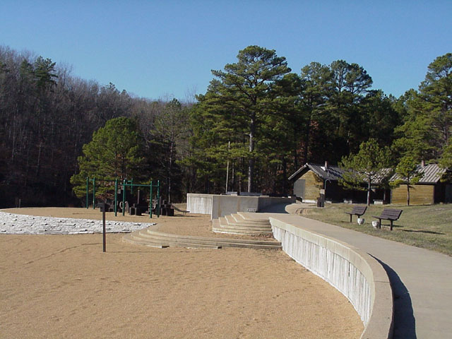 view of the Beach and the accessible walkway