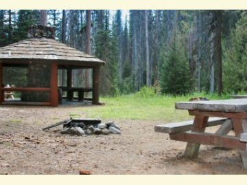 Salmon Meadows Campground Campsite