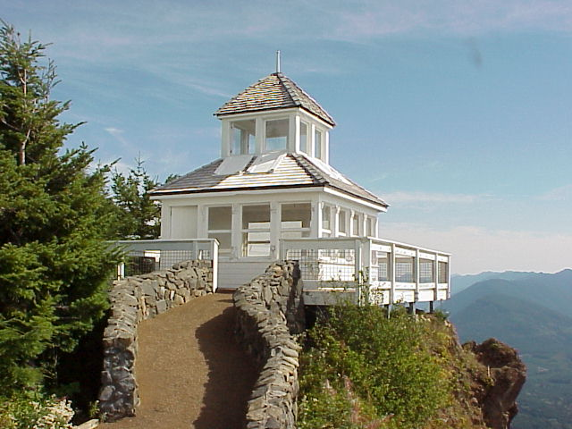 Historic Kloshe Nanitch Lookout has been removed.