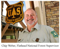 Chip Weber, FNF Forest Supervisor