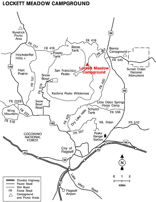 Lockett Meadow Map