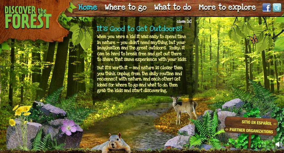 Discover the Forest Home Page