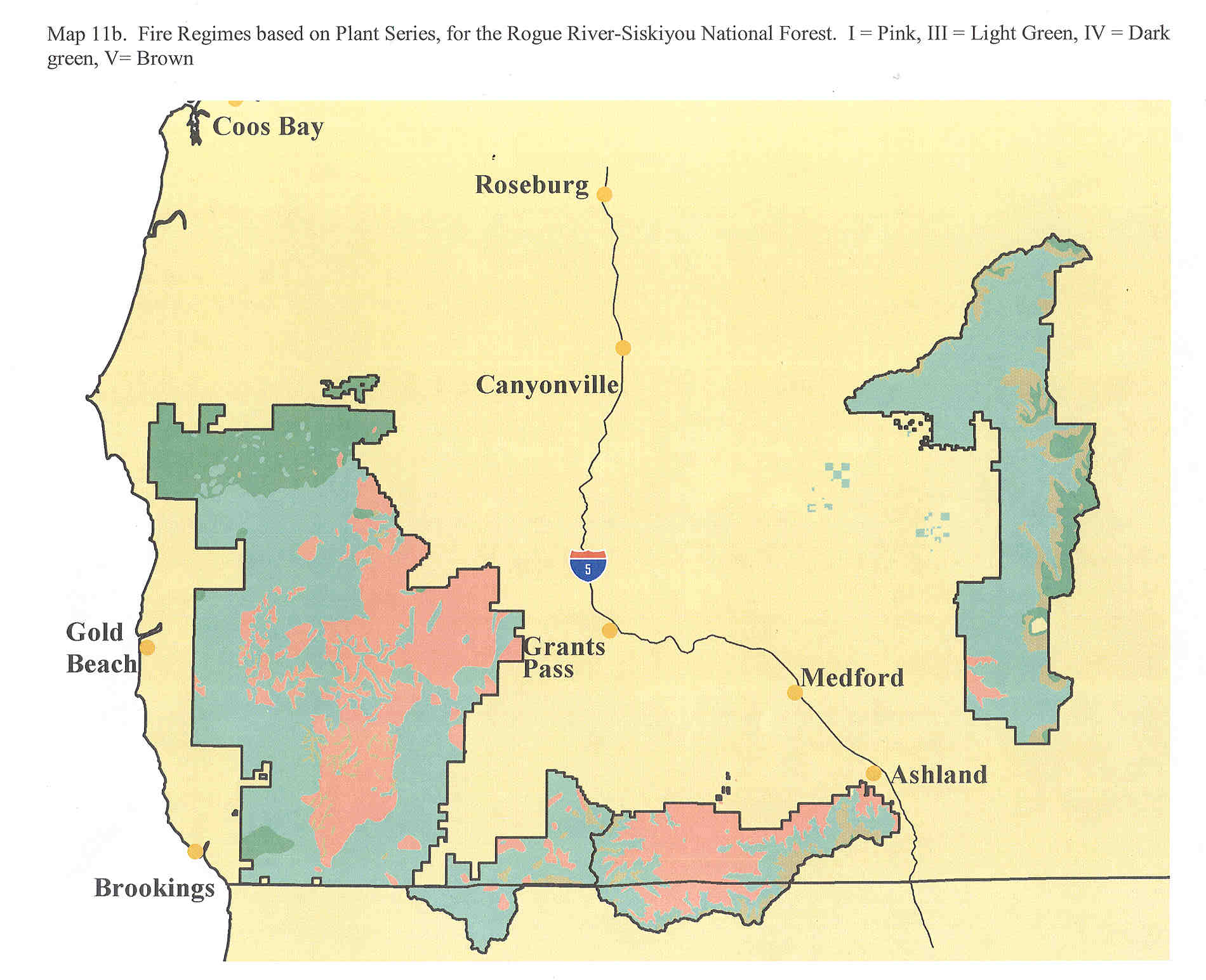 Rogue RiverSiskiyou National Forest Maps Publications