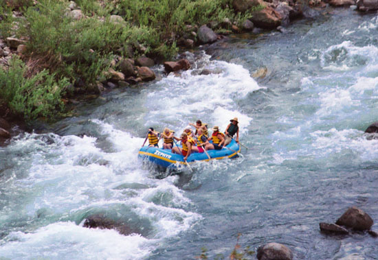 White Water Rafting California Map.Sierra National Forest Recreation