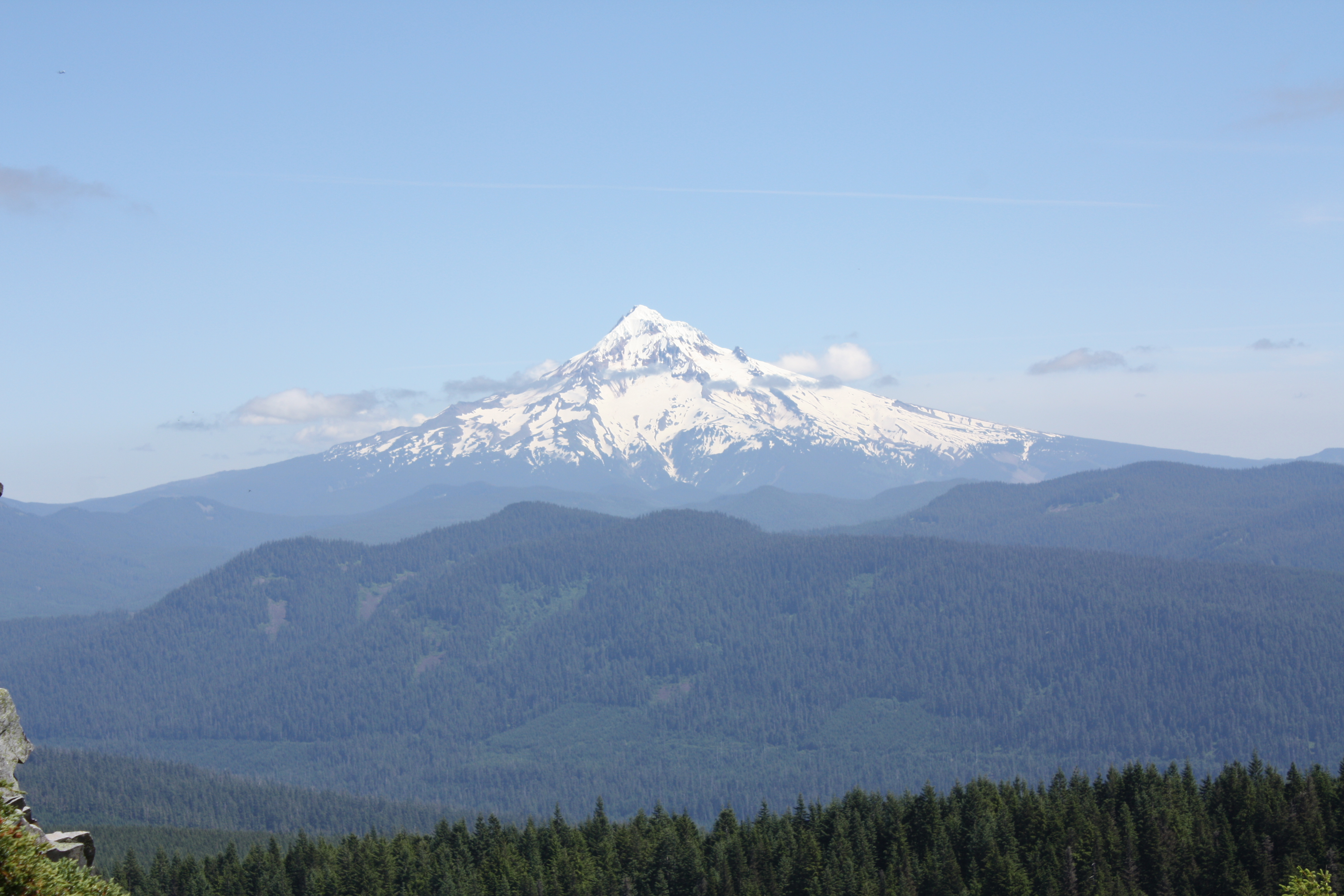 View of Mt. Hood From Larch Mtn.