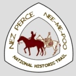 Service mark for the Nez Perce National Historic Trail