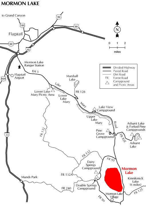 Mormon Lake Az >> Coconino National Forest Mormon Lake