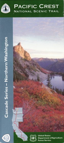 Image Of The Pct Map 10 Cover