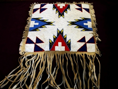 Image of a beaded breechcloth