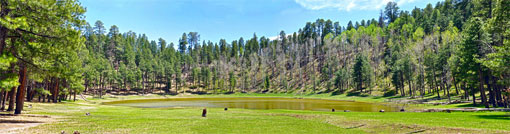 Panorama of Potato Lake