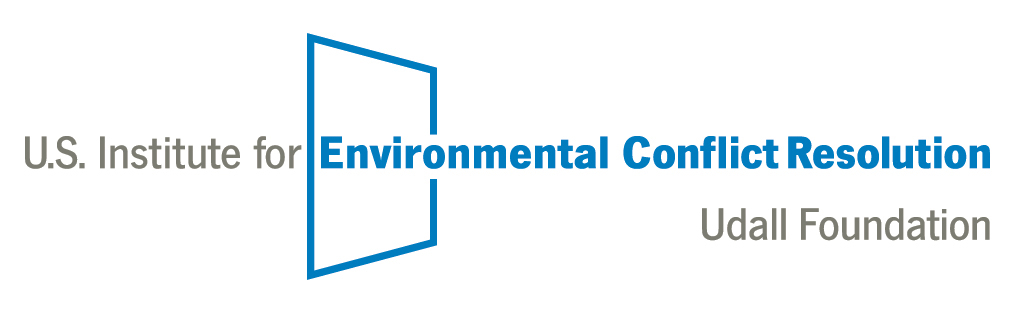US Institute for Environmental Conflict Resolution Logo