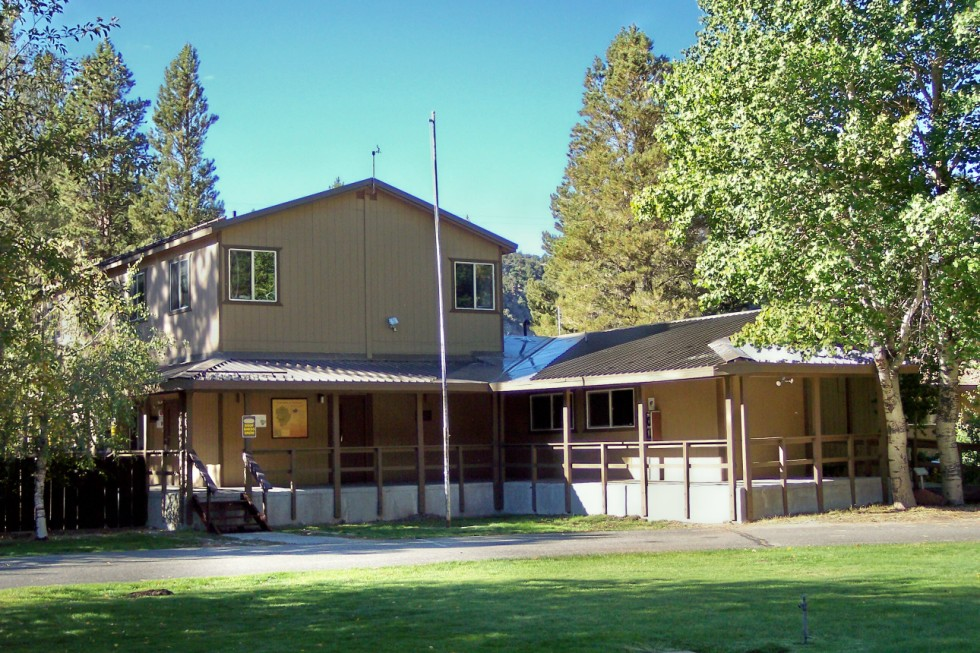 The Forest Service Office at Lee Vining