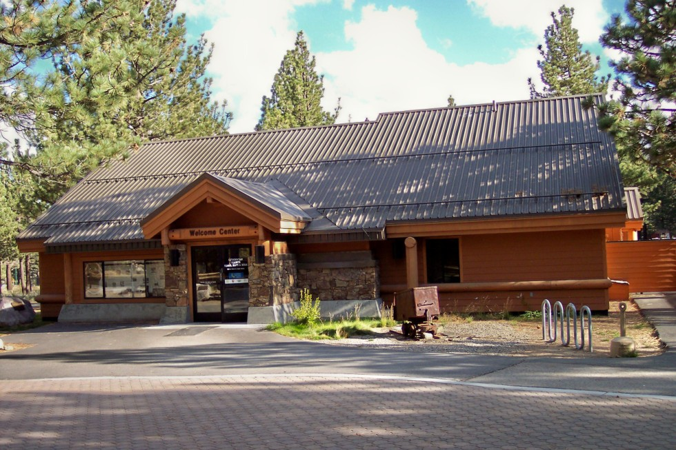 The Welcome Center at Mammoth Lakes