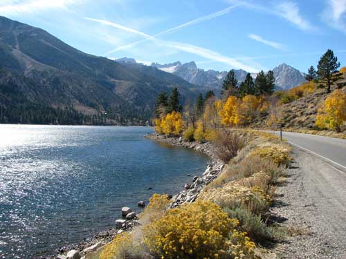 Fall on the Inyo
