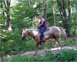 Hungerford Recreation Area - horse trail