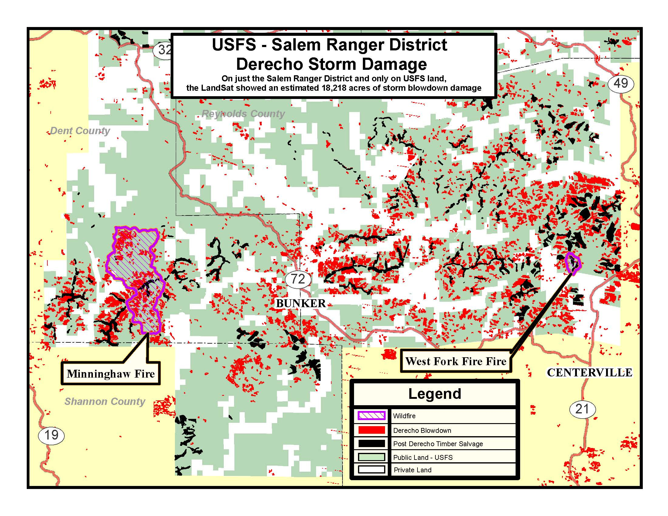 Mark Twain National Forest News  Events - Us national forest fire map