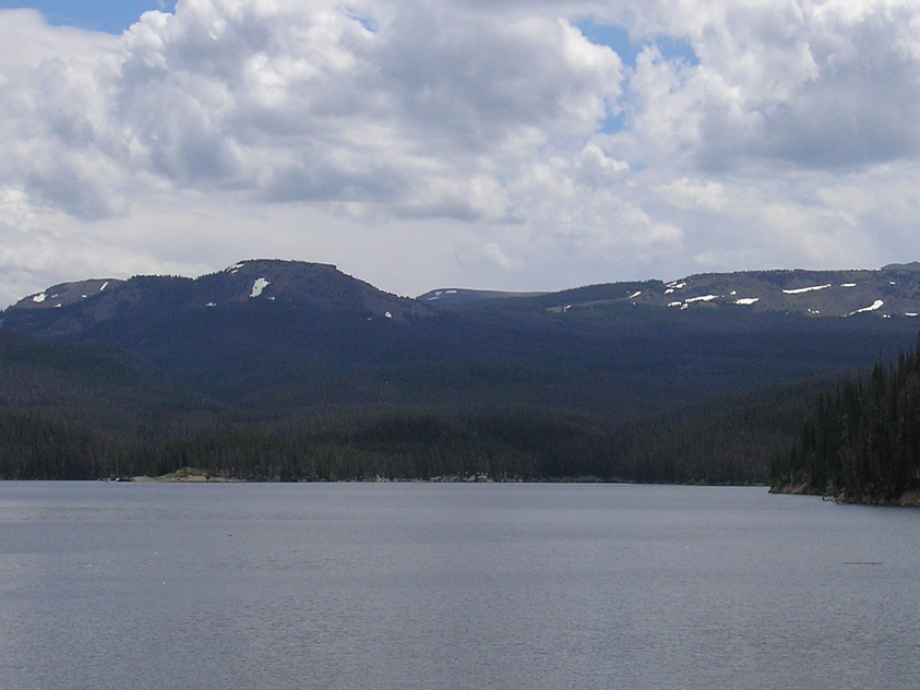 Visitors will enjoy the beautiful scenery of Chambers Lake. Lake is nearby campground.