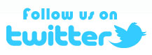 Twitter logo - Follow us on Twitter